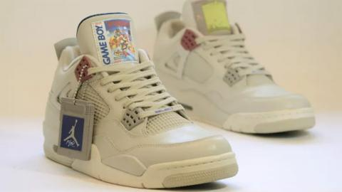 Air Jordans Super Mario Land