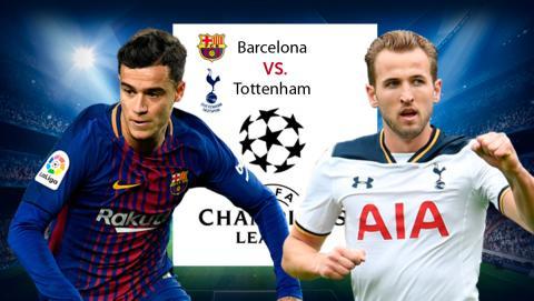 Barcelona Tottenham