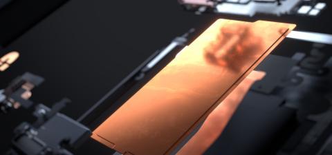Cámara de vapor del Razer Phone 2