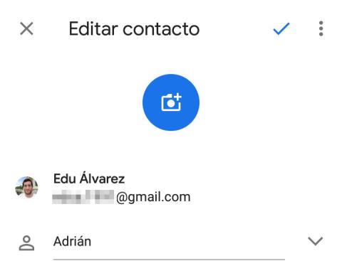 Contacto Google