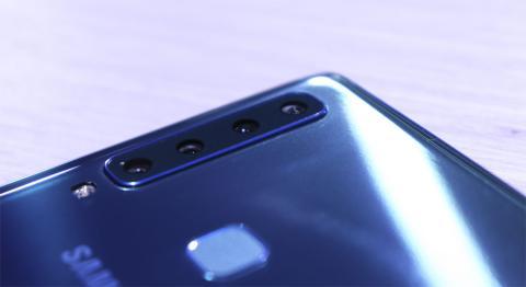 Las cuatro cámaras del Samsung Galaxy A8 2018