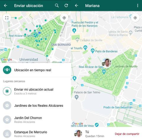 Falsear ubicación WhatsApp
