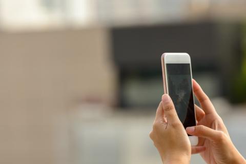 Foto con el móvil