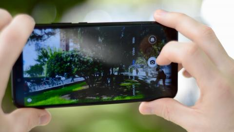 Fotografías del diseño del Huawei Mate 20 Lite