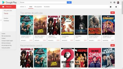 Actualizar a 4K Google Play