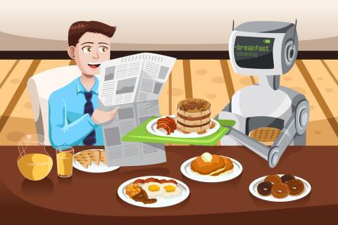 Inteligencia artificial capaz de reconocer comida y hacer recetas