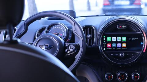 Interior del Mini Countryman S E