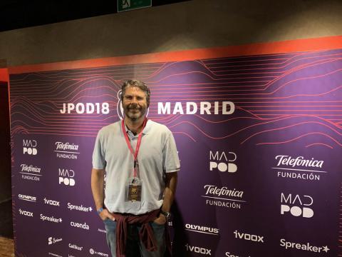 Juan Ignacio Solera, fundador de Ivoox