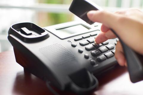 Marcación teléfono fijo