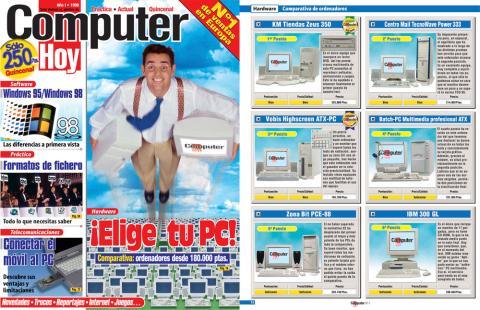 número 1 de la revista computer hoy