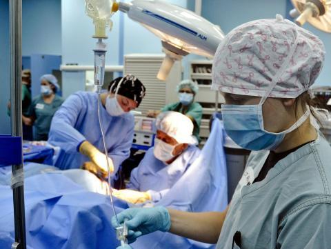 Un quirófano en un hospital