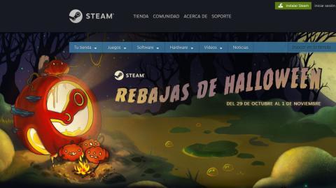 Ofertas de Halloween Steam