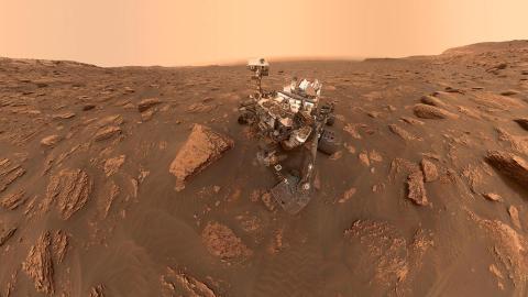 Robot espacial Curiosity