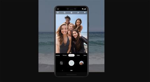 selfie grupo pixel 3