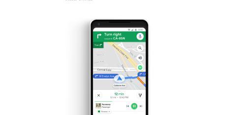 Spotify en Google Maps