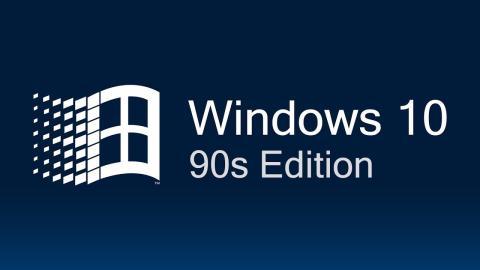 Windows 10 versión año 1990