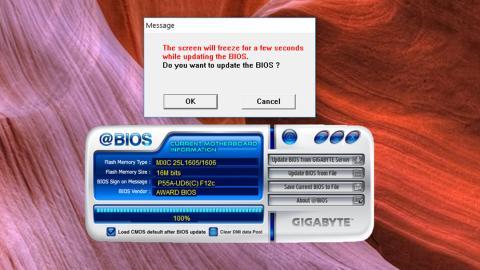 Actualizar BIOS