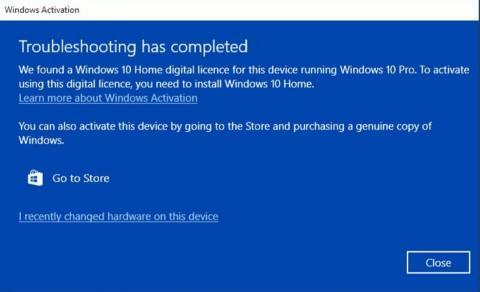 Bug Windows 10