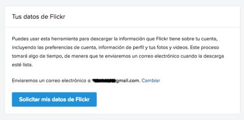 Como descargar imagen de Flickr