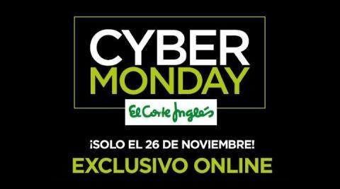 Cyber Monday El Corte Inglés