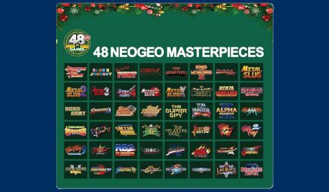 Neo Geo Mini Christmas Limited Edition