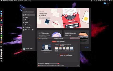 Ejemplo resolución nativa del MacBook Pro