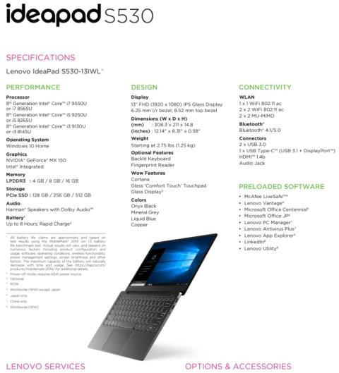 ideapad S530