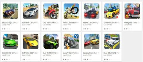 Juegos virus Google Play