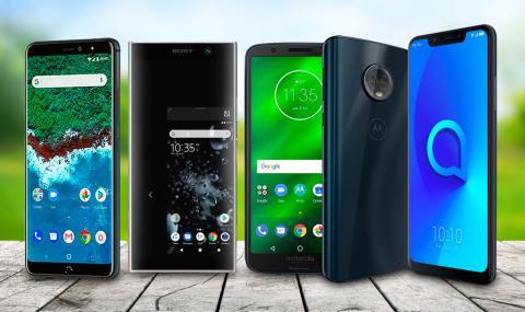 Mejores móviles Android de gama media de 2018