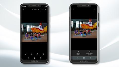 Motorola One - Cámara