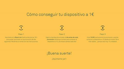 Móviles, e-readers y tabletas por 1 euro en el Black Friday más loco de BQ