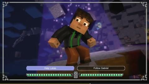 Minecraft Modo Historia