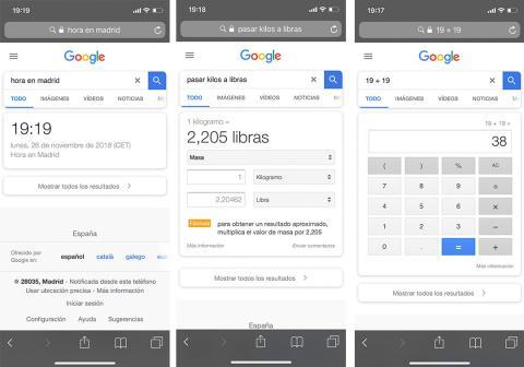 nueva búsqueda móvil google