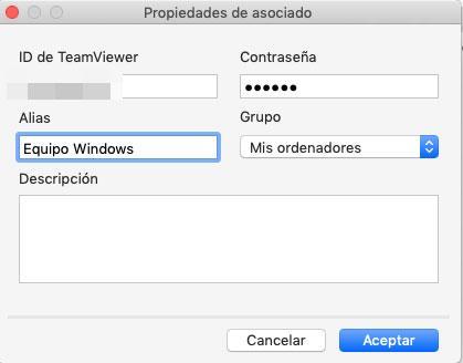nuevo equipo teamviewer
