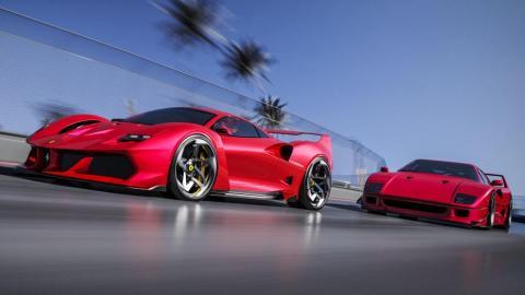 Nuevo Ferrari F40 render
