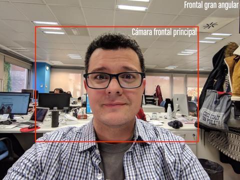 Pixel 3XL frontal