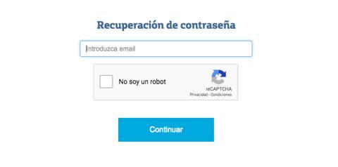 Recuperar clave correo Movistar