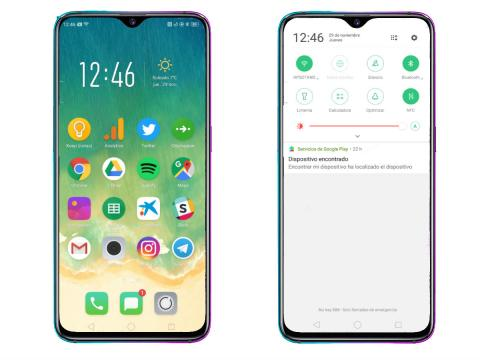 Software Oppo RX17 Pro
