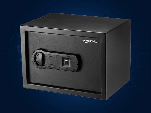 Caja fuerte biométrica