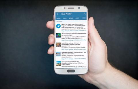 actualizacion telegram