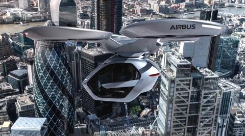 Coche volador de Audi y Airbus
