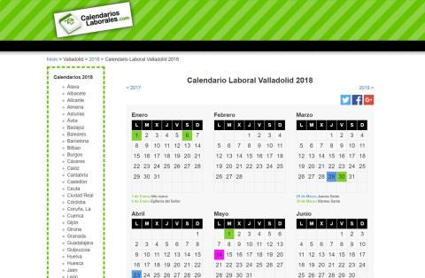 Calendario Laboral 2019 Valladolid Pdf.Descarga El Calendario 2019 Plantillas Imagenes Y