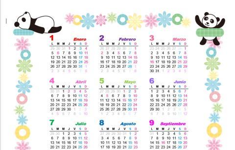 Calendario Dibujo 2019.Descarga El Calendario 2019 Plantillas Imagenes Y