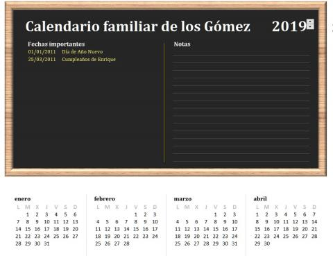 Calendario Mensual Word.Descarga El Calendario 2019 Plantillas Imagenes Y