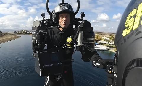 Carrera de jetpacks