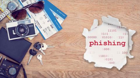Evita la amenaza del phishing al reservar tus viajes y vacaciones