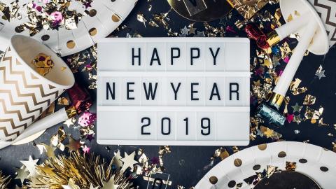 Año Nuevo 2019 Frases De Whatsapp Divertidas Y Originales Para