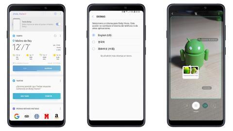 Interfaz Samsung Galaxy A9