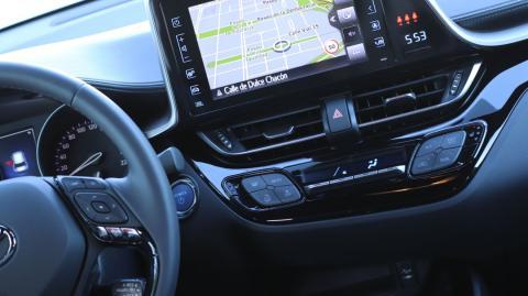 Interior del Toyota C-HR