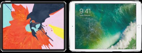 iPad Pro 2018 vs 2017